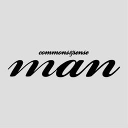 Commons & Sense Man Magazine