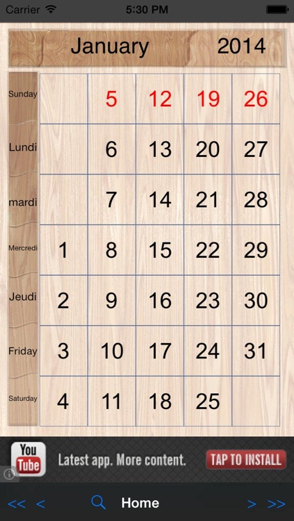 Perpetual-Calendar screenshot-4