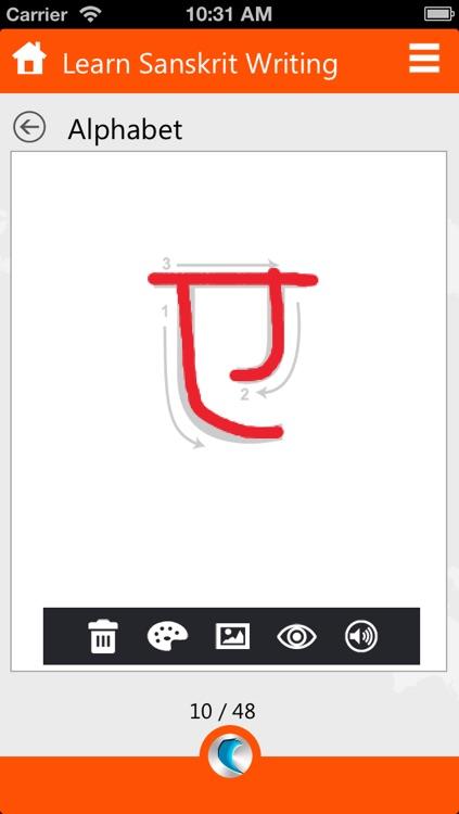Learn Sanskrit Writing by WAGmob