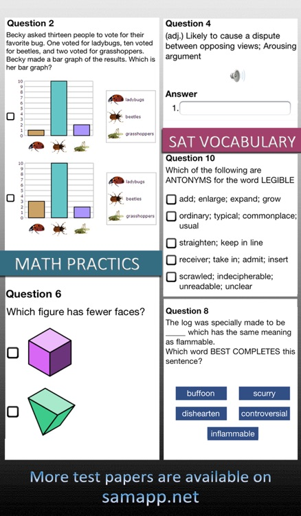 xQuestions Free - Create test paper in Excel