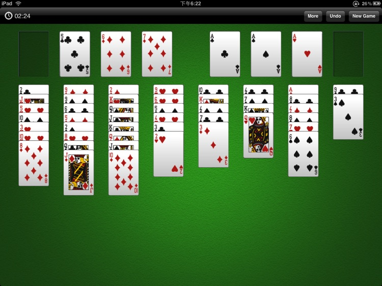 FreeCell Solitaire HD Free screenshot-0