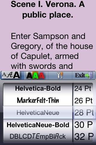 Romeo and Juliet screenshot-3