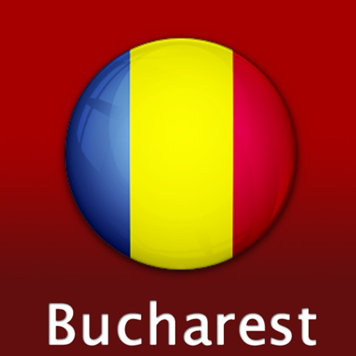 Bucharest Travel Map (Romania)
