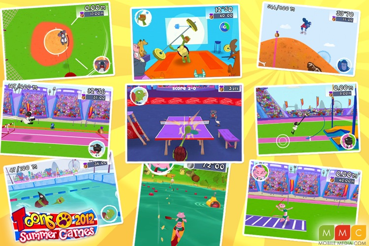 Toons Summer Games 2012