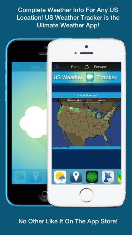 US Weather Tracker - Weather Maps, Radar, Severe & Tornado Outlook & NOAA Forecast screenshot-4