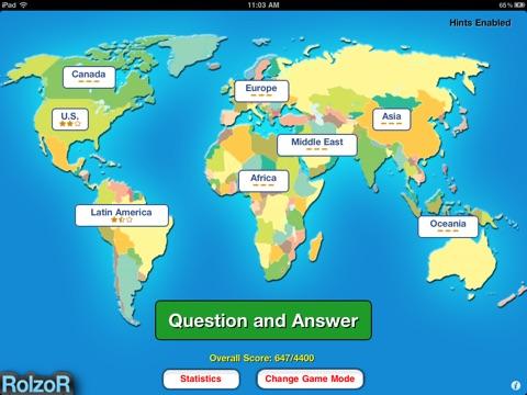 TapQuiz Maps World Edition-ipad-1