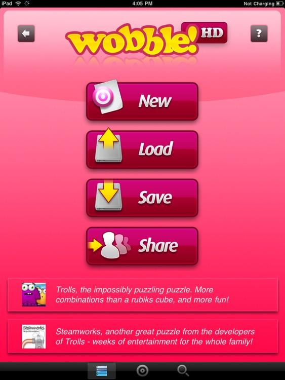 Wobble HD 3D screenshot-3