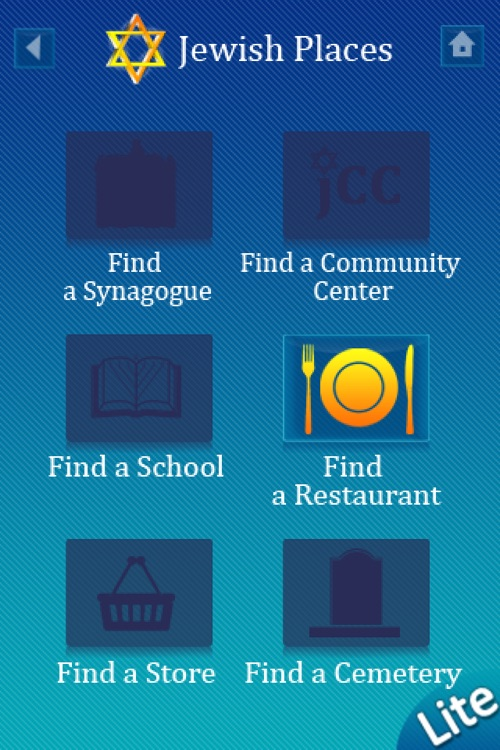 iJew Mobile Lite – Find Jewish Places, Say Blessings, Light Candles, Jewish Calendar, and More Free! screenshot-4