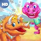 恐竜王国のカラーパズル HD ™ icon
