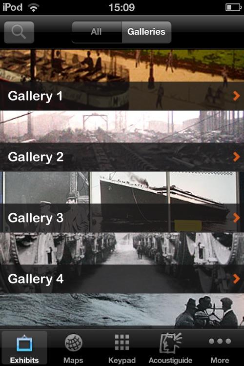 Titanic Belfast – Acoustiguide App