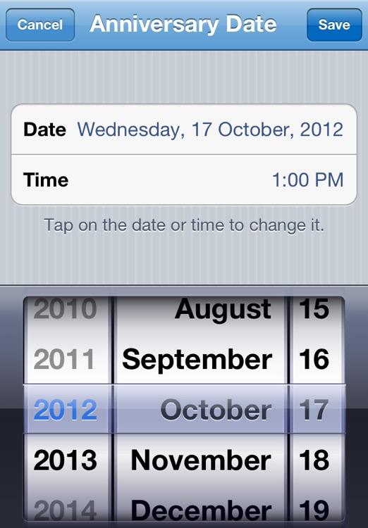My Anniversary Countdown screenshot-3