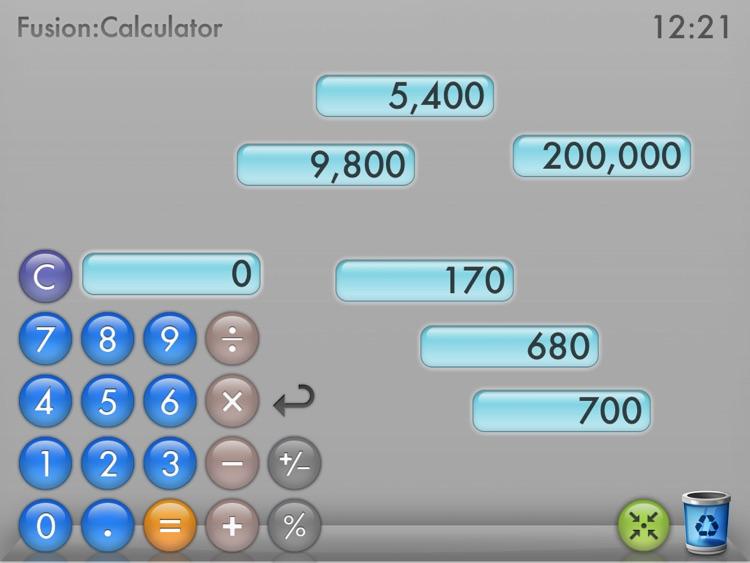 Fusion Calculator for iPad Lite