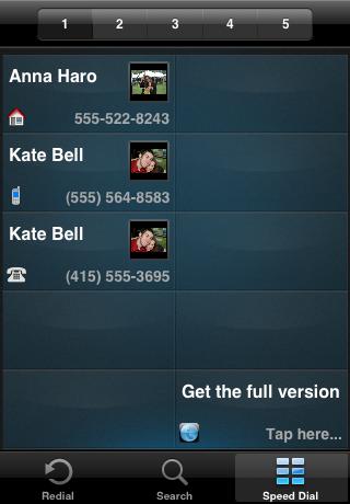 TAKEphONE Lite contacts dialer screenshot four