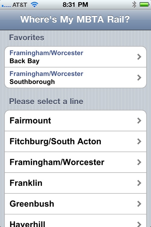 Where's my MBTA Rail? screenshot-1