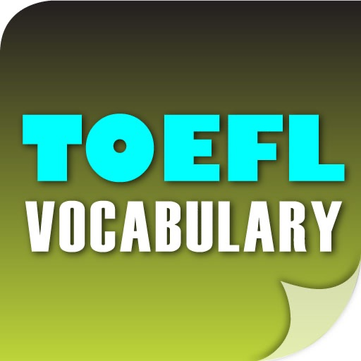 TOEFL - GMAT Vocabulary Builder icon
