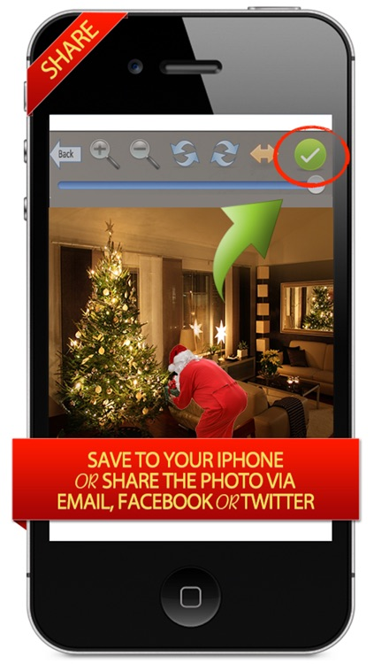 Santa Clause Was Here - Make Saint Nick Appear in Your Children's Pictures Like Magic screenshot-3