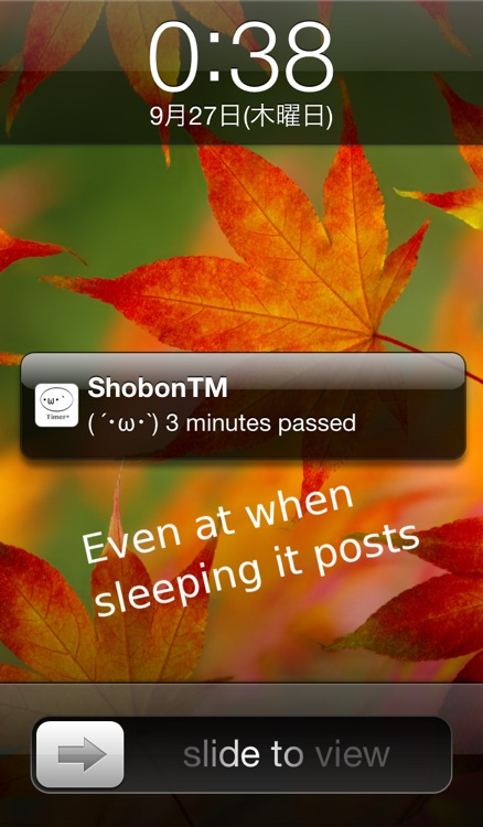 ShobonTimer screenshot-2