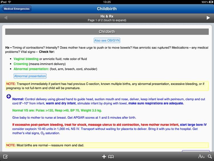 EMS ALS for iPad screenshot-3