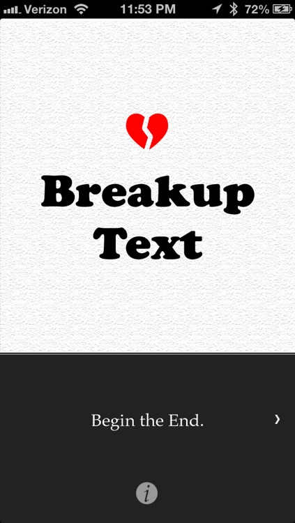 BreakupText