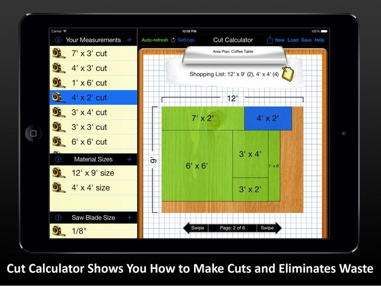 Cut Calculator