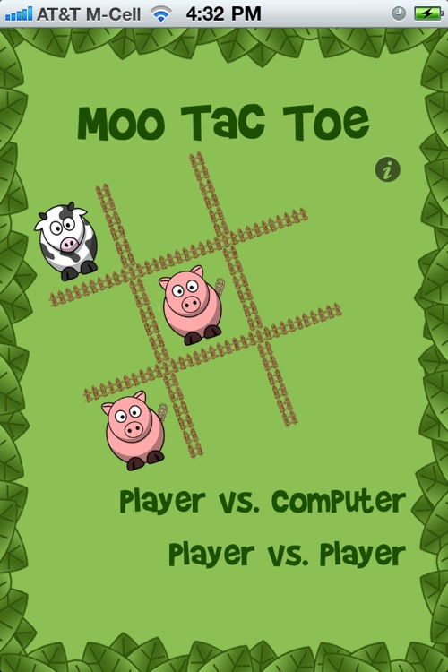 Moo Tac Toe Free - Animal Tic Tac Toe for Kids! screenshot-0
