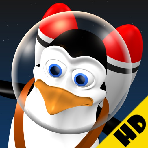 Doodle Space Pingouin HD