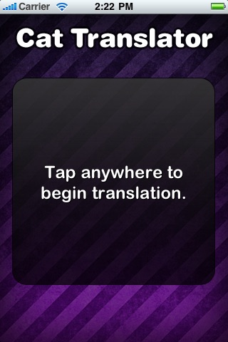 Translator for Cats (FREE)