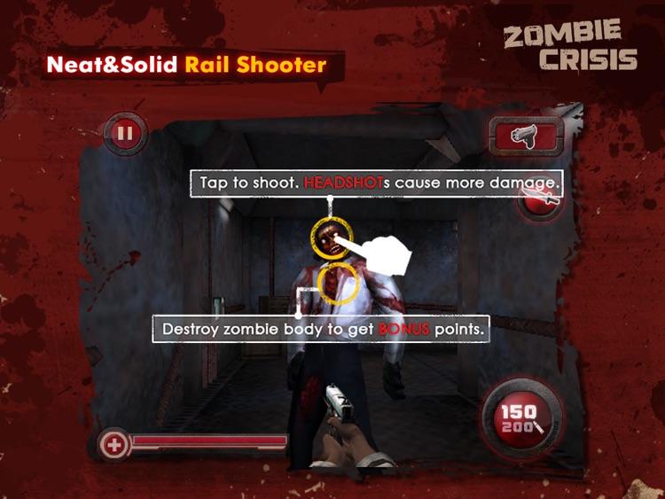 Zombie Crisis 3D HD