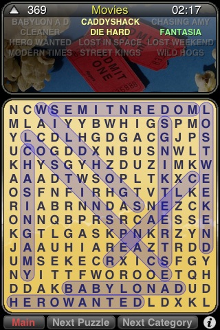 WordSearch Puzzle screenshot-0