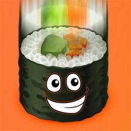 Sushi Falling Race Mania - Fun Food Escape Challenge