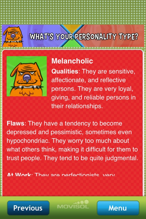 What's your personality type? screenshot-3