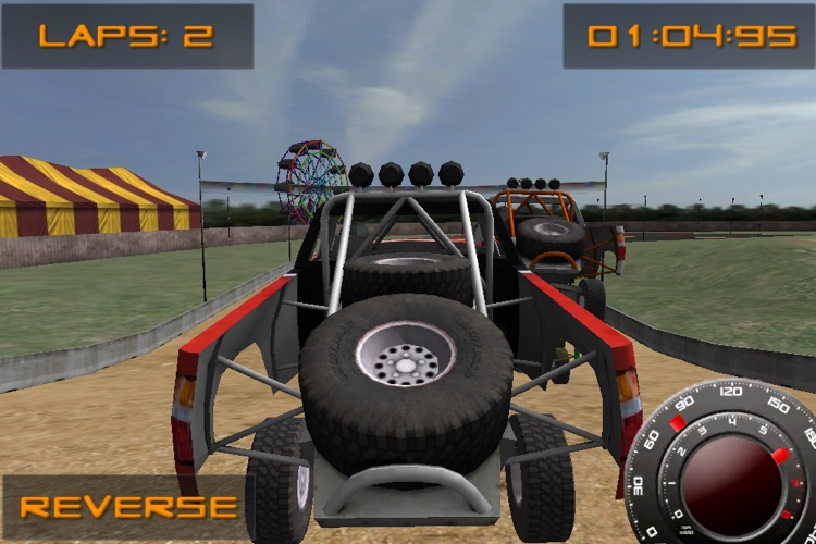 GameFit Racing ( Exercise Powered Offroad Race Track Fitness Game ) screenshot-3