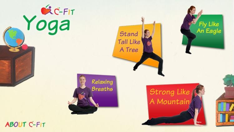 C-Fit Yoga - Classroom Fitness