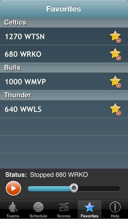 Pro Hoops Radio & Live Scores screenshot-4