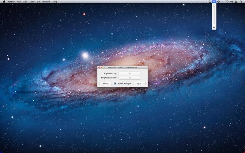 Brightness Slider Screenshot