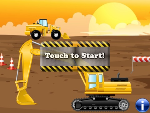 digger puzzles for toddlers and kids play with construction