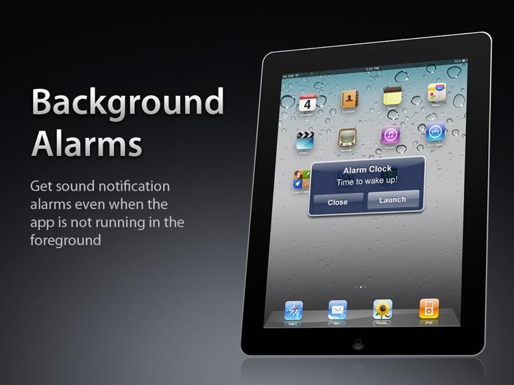 Alarm Clock HD Free screenshot-3