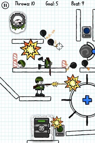 Doodle Bomb Lite screenshot-3