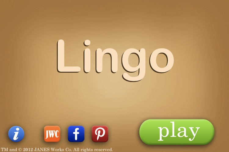 Lingo the Word Game