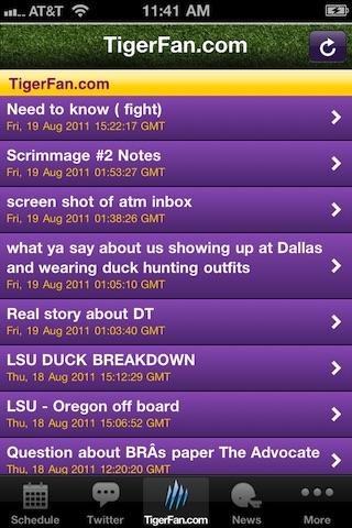 GeauxTigers!  LSU Football! screenshot-4