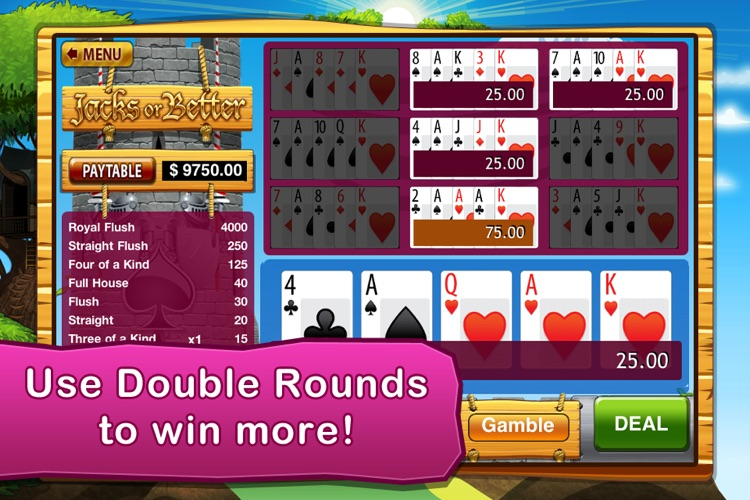 Video Poker (4 Games) screenshot-1