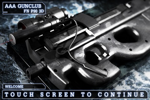 FN P90 3D lite - GunClub Edition screenshot-0