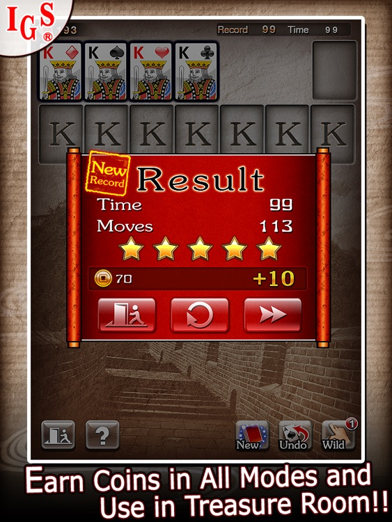 Great Solitaire HD screenshot-3