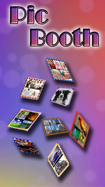 Pic Booth - Photo Collage + Picture Frame editor and borders with hd background  for Facebook,instagram,Tumblr free