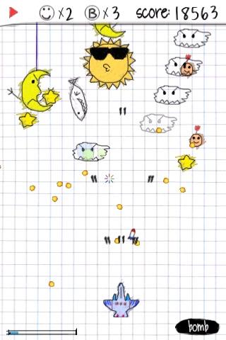 A_Doodle_Flight Lite screenshot-3