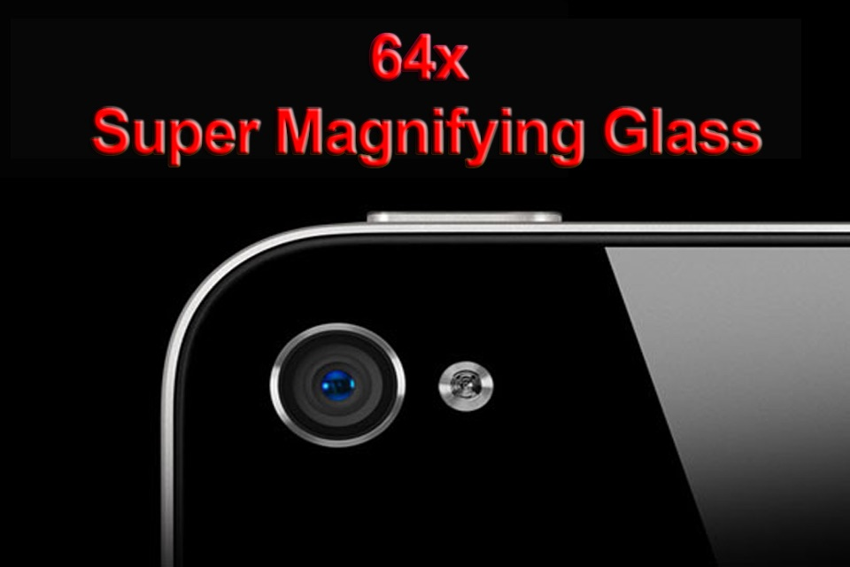 64x - Super Magnifying Glass Screenshot