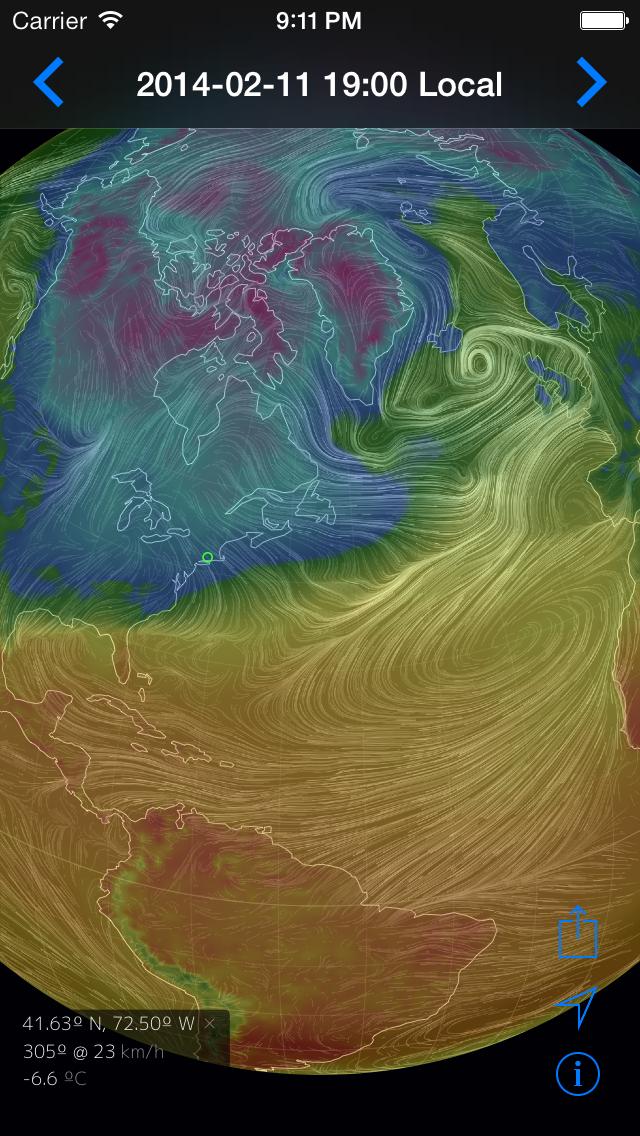 Climate Earth 3Dのおすすめ画像1