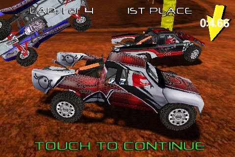 Pro Truck Rally Lite screenshot-4