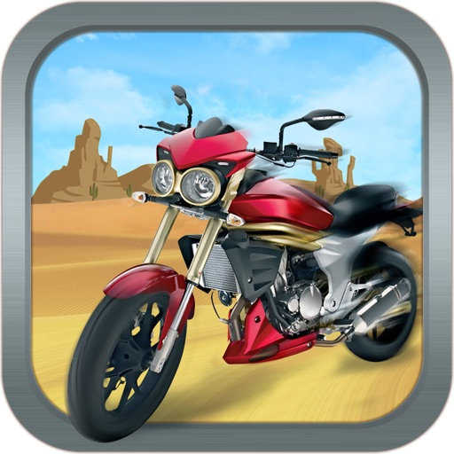 Desert Motor Bike - Motorcycle Racing in Death Valley!