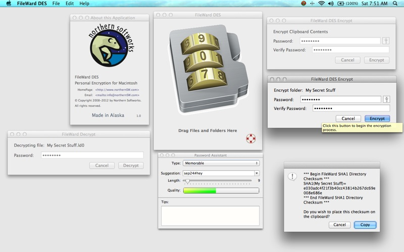 FileWard DES - MacGenius